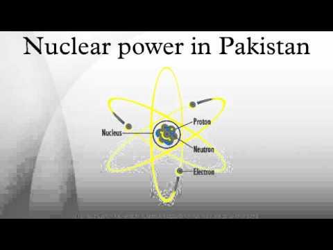 Nuclear power in Pakistan