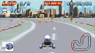 Crazy Frog Racer (Gameboy Advance Gameplay)
