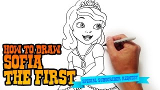 How to Draw Sofia the First - Step by Step Video