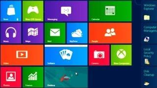 How to Resize, Pin or Unpin Metro App Tiles Windows 8