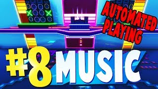 TOP 8 MOST FUN MUSIC Creative Maps In Fortnite | WITH AUTOMATED PLAYING | Fortnite Music Map CODES