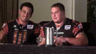 Arena Football League Arena Bowl 26 Media Day, Players