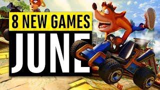 8 New Games Arriving in June 2019
