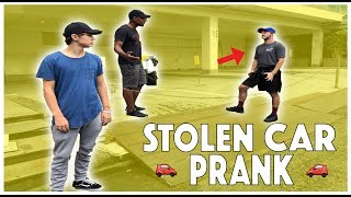 STOLEN CAR PRANK on BEST FRIENDS! (THEY GOT SO MAD) ft. Elton Castee and Colby Brock