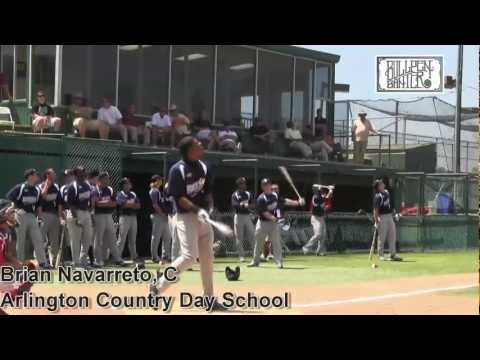 Brian Navarreto Prospect Video, Arlington Country Day School