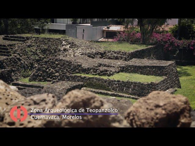 Teopanzolco, Morelos. Un minuto de #INAHVirtual hasta tu casa