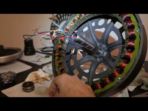 Hunter Original Ceiling Fan Motor Disassembly & Cleaning