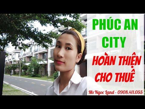 PHÚC AN CITY – BIỆT THỰ HOÀN THIỆN 400TR CHO THUÊ   Ms Ngọc Land