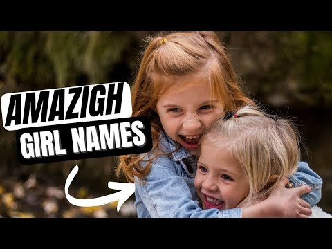 Banned Beautiful Amazigh Girl's names :الاسماء الامازيغية الجميلة المحضورة في المغرب