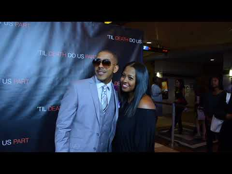 Breaking ! Marques Houston , Keisha Knight Pulliam Spotted at Til Death Do us Part movie!