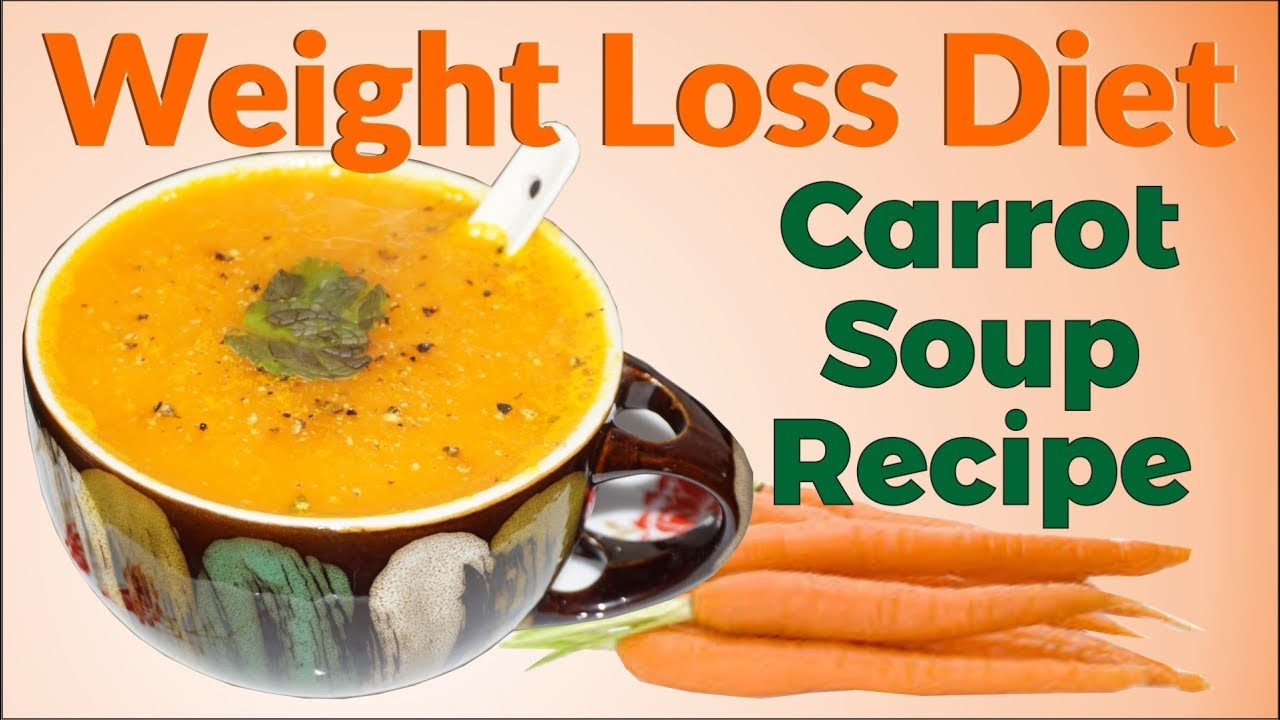 How to lose weight on a carrot