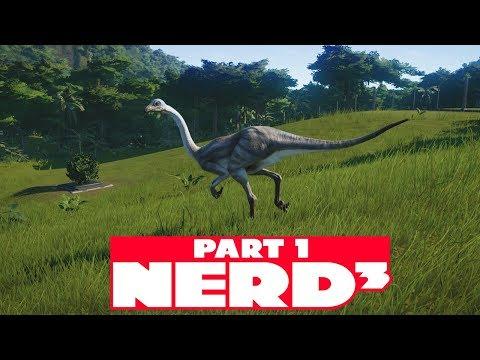 Nerd³ Builds a Jurassic World - 1 - Evolution