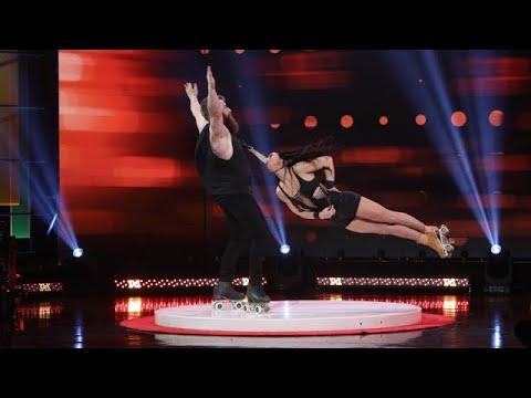 'America's Got Talent' Semi-Finalists Billy & Emily England Take the Stage