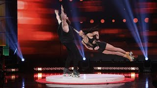 'America's Got Talent' Semi-Finalists Billy & Emily England Take the Stage