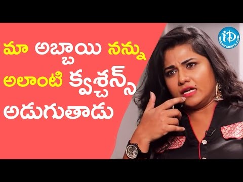 Jyothi About Her Son || Talking Movies With iDream