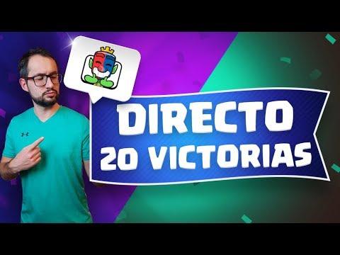 DESAFÍO DE 20 VICTORIAS CON MI CUENTA F2P! NO PIERDAS EL DIRECTO ÉPICO   Malcaide Clash Royale