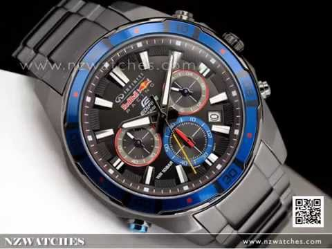Casio Edifice Infiniti Red Bull Racing Limited Edition Watch Efr