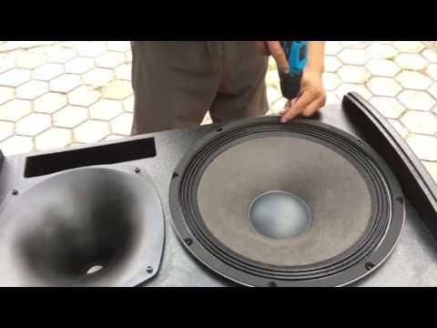 đập Thùng Và Mổ Bụng Loa Latop UV 15 đầu Tiên Tại VN (clip Full)