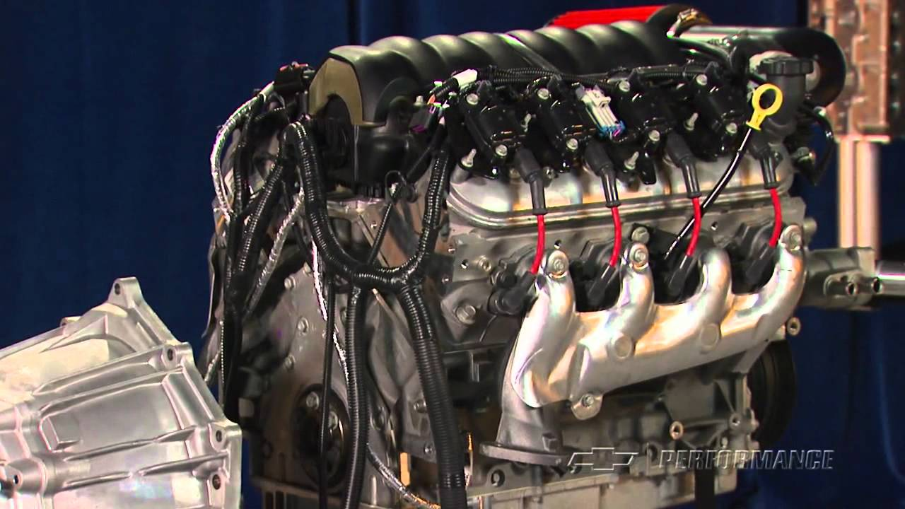 hight resolution of the ls3 crate powertrain an entire drivetrain all in one package youtube