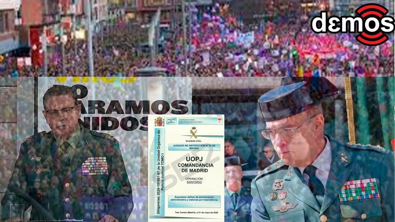 El escándalo del informe 8M de la Guardia Civil I Demos