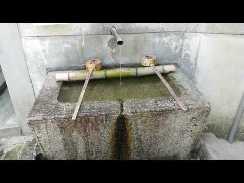 Water Trough at Buddhist Temple, Kyoto