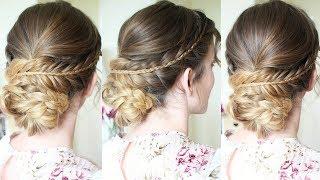 Soft Braided Updo | Braided Hairstyles | Braidsandstyles12