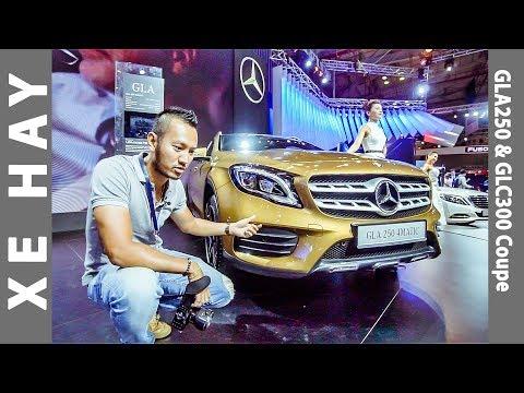 |VMS 2017| Khám phá chi tiết Mercedes GLA250 AMG và GLC300 Coupe