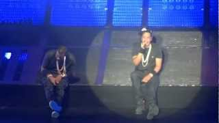 Jay Z Hard knock life HD - live at the O2 Dublin - Watch the throne