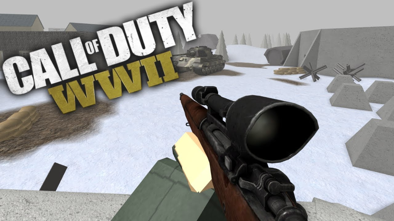 Cod Wwii In Roblox Youtube