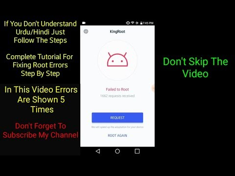 How To King Root Basics Error During Mobile Root Fix
