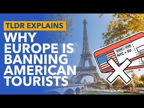 Why Europe is Banning American Tourists: The EU Thinks the US Can't Handle COVID - TLDR News