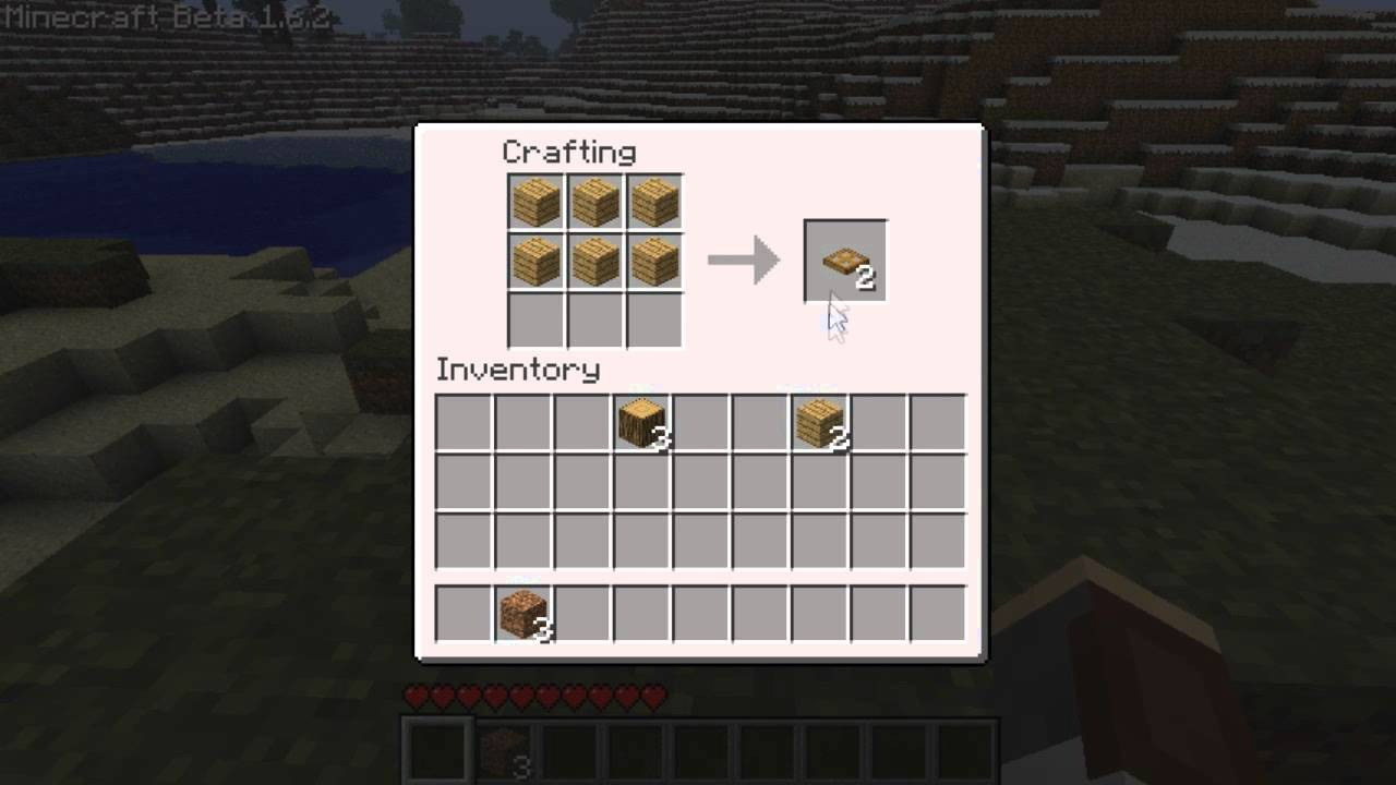 Minecraft Trap Door New 28.28 Feature. How to make a wooden trap