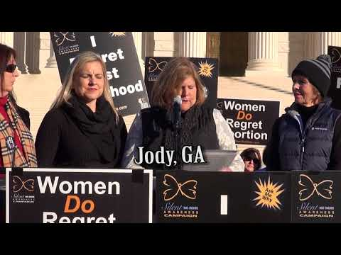 Jody's 2018 March for Life Testimony