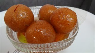 Bread Gulab Jamun Recipe-instant Gulab Jamun Recipe-indian Sweet By Healthy Food Kitchen