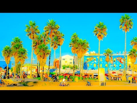 A Walk Down The Venice Beach Boardwalk