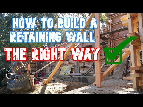 How to build a concrete retaining wall ... All Access 510-701-4400