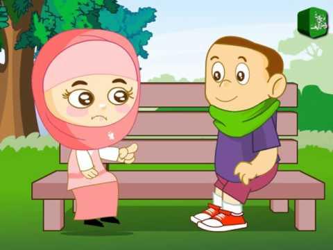 nail-biting educational urdu cartoon