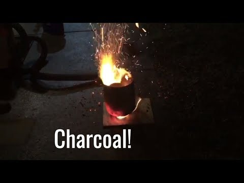 Making Charcoal (Carbon) from Scratch