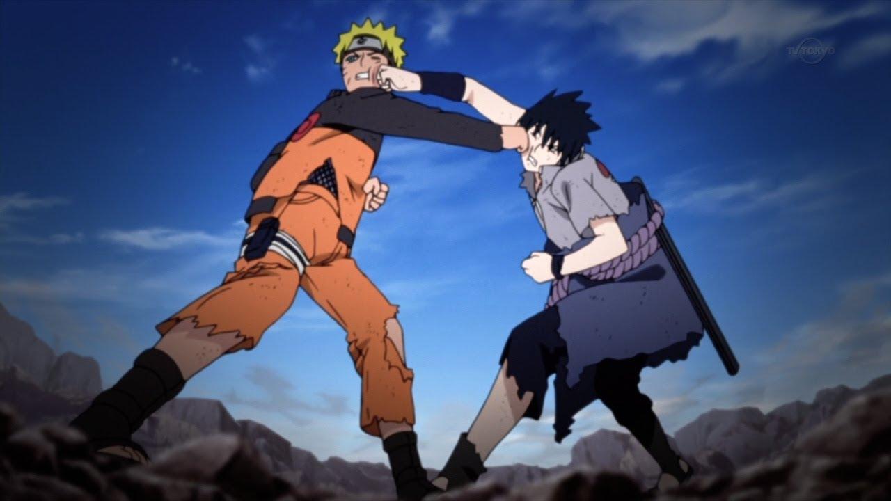 naruto vs sasuke full fight final battle ger sub german