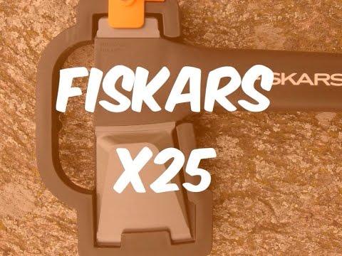 fiskars x25 splitting axe review youtube. Black Bedroom Furniture Sets. Home Design Ideas
