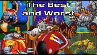 EASIEST AND HARDEST: First Bosses in Sonic the Hedgehog (2D Games)