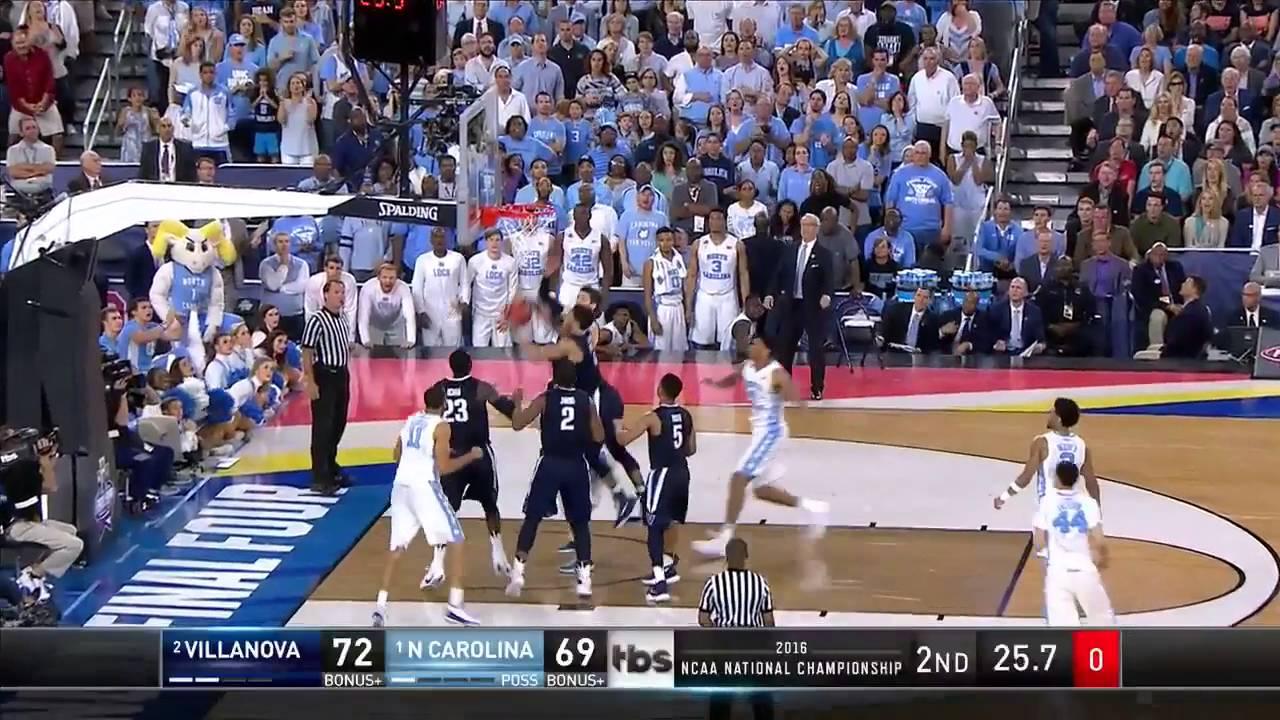 Villanova vs. North Carolina: Marcus Paige reverse