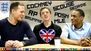 КАКИЕ БЫВАЮТ АНГЛИЙСКИЕ АКЦЕНТЫ (ЧАСТЬ 1) RP | POSH | COCKNEY | JAFAICAN | SCOUSE | И ДРУГИЕ