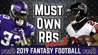 Must Own Running Backs (August Update) - 2019 Fantasy Football