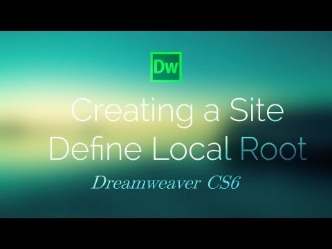 Create a Site (Local Root)