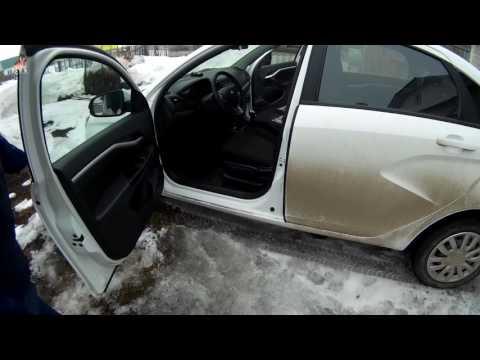 Lada Vesta. Дополнительные  дверные уплотнители на автомобиль, как защита от шума и грязи.