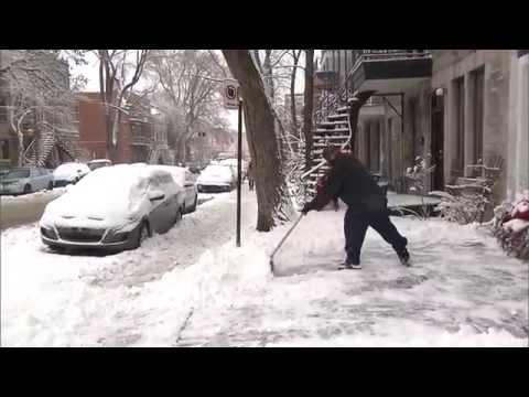 Montreal snow