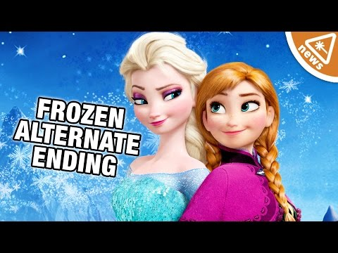 Frozen's Original Dark Ending Revealed! (Nerdist News w/ Jessica Chobot)