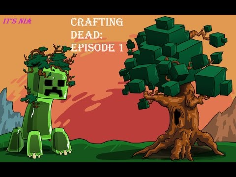 My first youtube video crafting dead lets play minecraft for The crafting dead ep 1