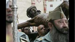 Colombiana Legionaria al Cristo de la Buena Muerte.